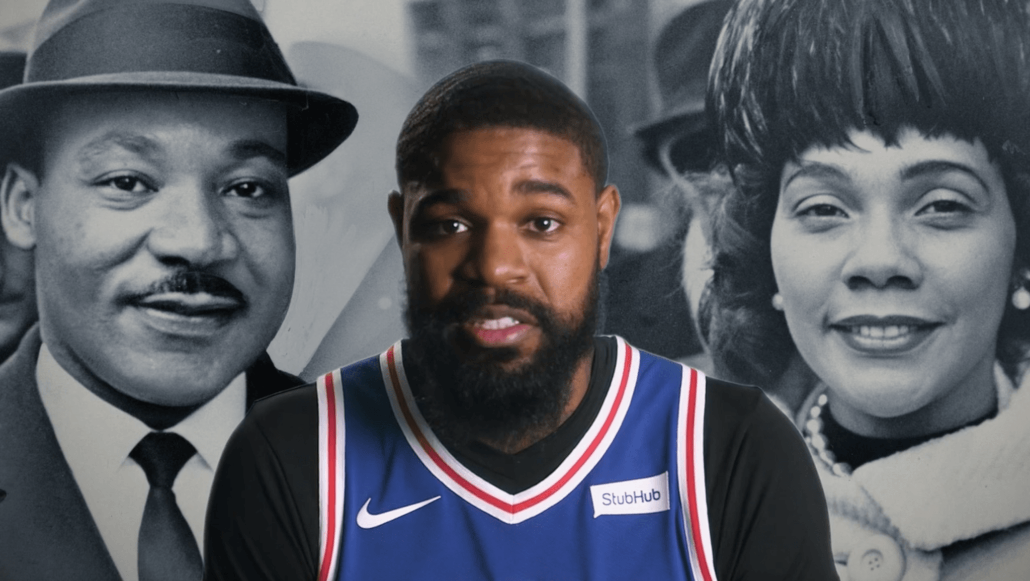 Commemorating MLK With The Philadelphia 76ers